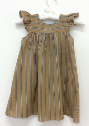 Randig madickenklänning